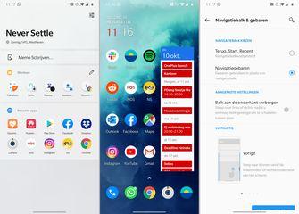 OnePlus 7T Pro screenshot OxygenOS