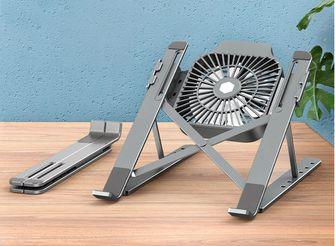 laptopstandaard ventilator