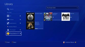 PS4 Firmware 5.5