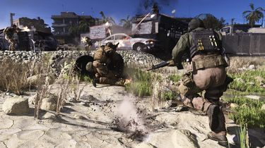 Call of Duty Modern Warfare big team battle