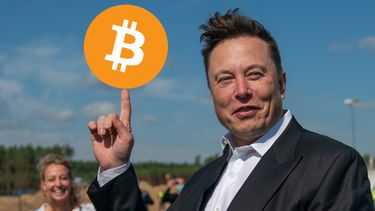 Elon Musk Bitcoin dieptepunt record tesla