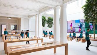 Apple Store in Washington D.C.