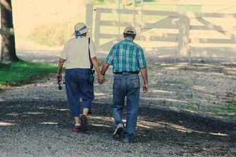 wandeling ouderen