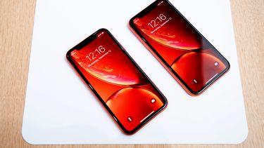 Apple iPhone XR beelscherm krassen