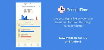 rescue time iOS app