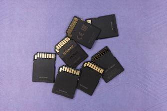 Geheugen SD kaart SSD