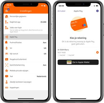 Apple Pay Nederland ING