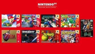 Nintendo 64 Nintendo Switch-games