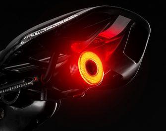 LED-licht elpktrische fiets