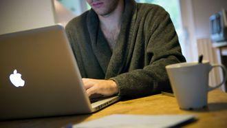 thuiswerken laptop macbook