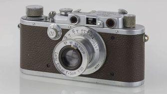 Leica III LEGO camera
