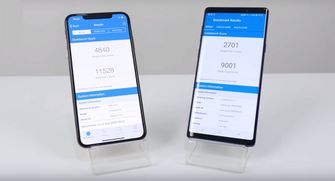 Samsung Galaxy Note 9 vs iPhone XS Max SuperSaf TV