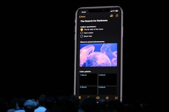 Apple iOS 13 Dark Mode WWDC19