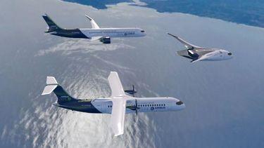 Airbus waterstof