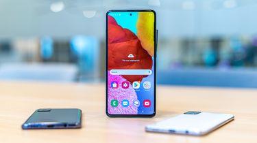 Samsung Galaxy A51 uitgelicht
