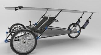 elektrische fiets AliExpress tricycle