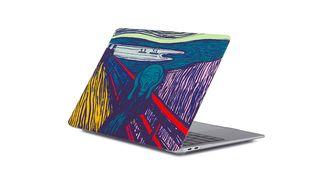 De Schreeuw MacBook cover