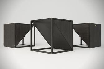 M.1 BlackxBlack bijzettafel speaker