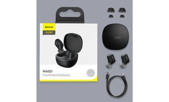 Baseus WM01 Tws Bluetooth oordopjes