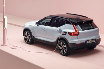 Volvo Recharge elektrische auto