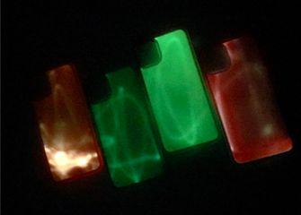 glow in dark smartphone hoesje