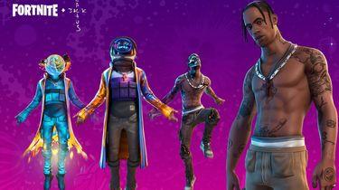 Travis Scott Fortnite Epic Games