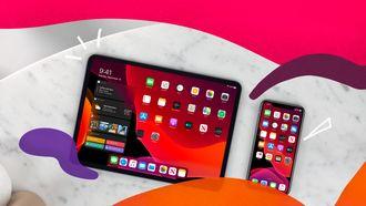 Apple iPad en iPhone iOS 13 iOS 14