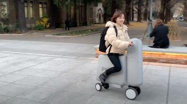 Toimo opblaasbare E-scooter