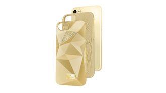 iPhone case Swarovski goud