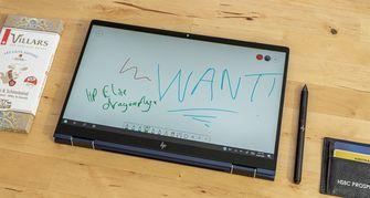 HP Elite Dragonfly tabletmodus