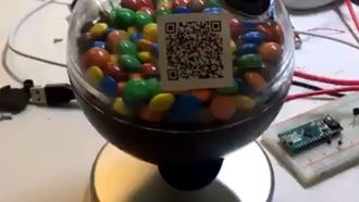 Bitcoin snoepautomaat