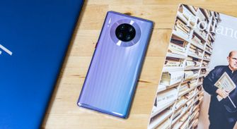 Huawei Mate 30 Pro review achterkant