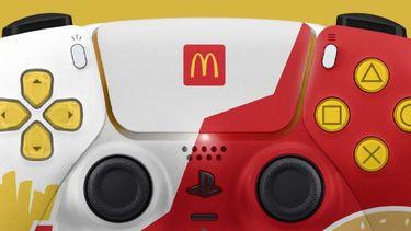 PlayStation 5 controller Mcdonalds