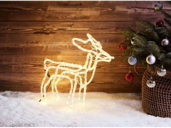 3D-lichtslangfiguur kerst Lidl