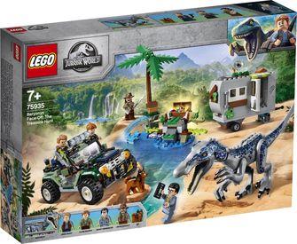 LEGO Jurassic World Confrontatie met Baryonyx: de Schattenjacht - 75935 Sinterklaas Black Friday