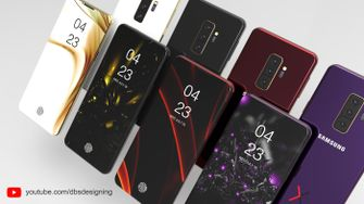 Samsung Galaxy S10, Galaxy S10, S10 designs