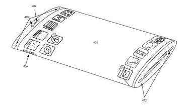Vouwbaar iPhone design