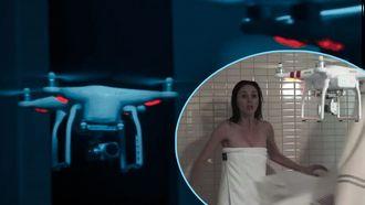 Drone horror film trailer