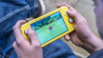 De Nintendo Switch Lite in actie