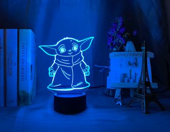 baby Yoda lamp AliExpress