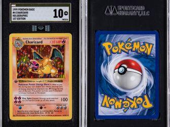 Pokémonkaart Holographic Charizard