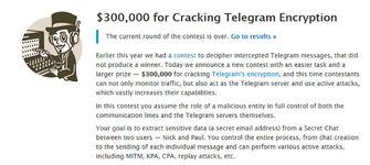 Telegram wedstrijd