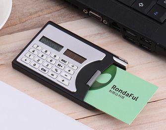 Pasjeshouder rekenmachine
