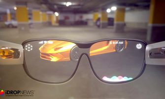 Augmented reality Apple Glasses bril