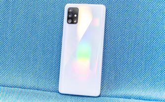 Samsung Galaxy A51 preview achterkant