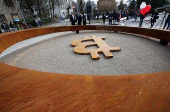 Bitcoin monument