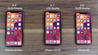 iPhone 2018, iPhone XS en iPhone XS Plus?