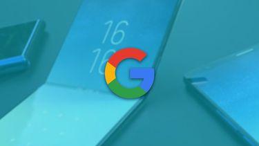 Opvouwbare Google smartphone