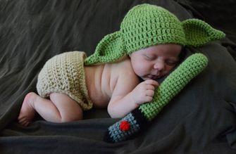 Baby Yoda gebreid AliExpress