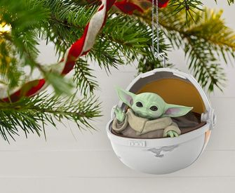 Baby Yoda kerstbal